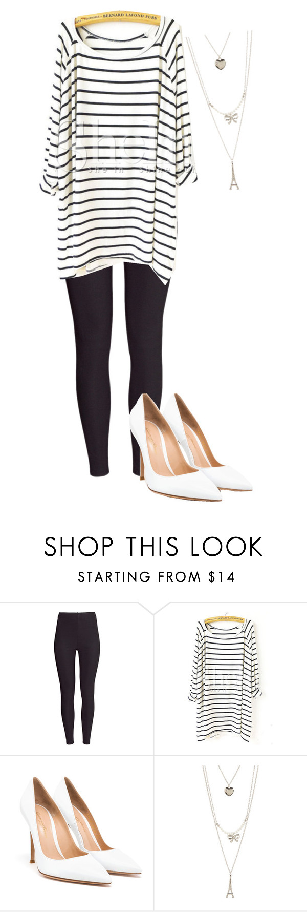 """""""Work"""" by nicoleee66 ❤ liked on Polyvore featuring H&M, Gianvito Rossi and Aéropostale"""