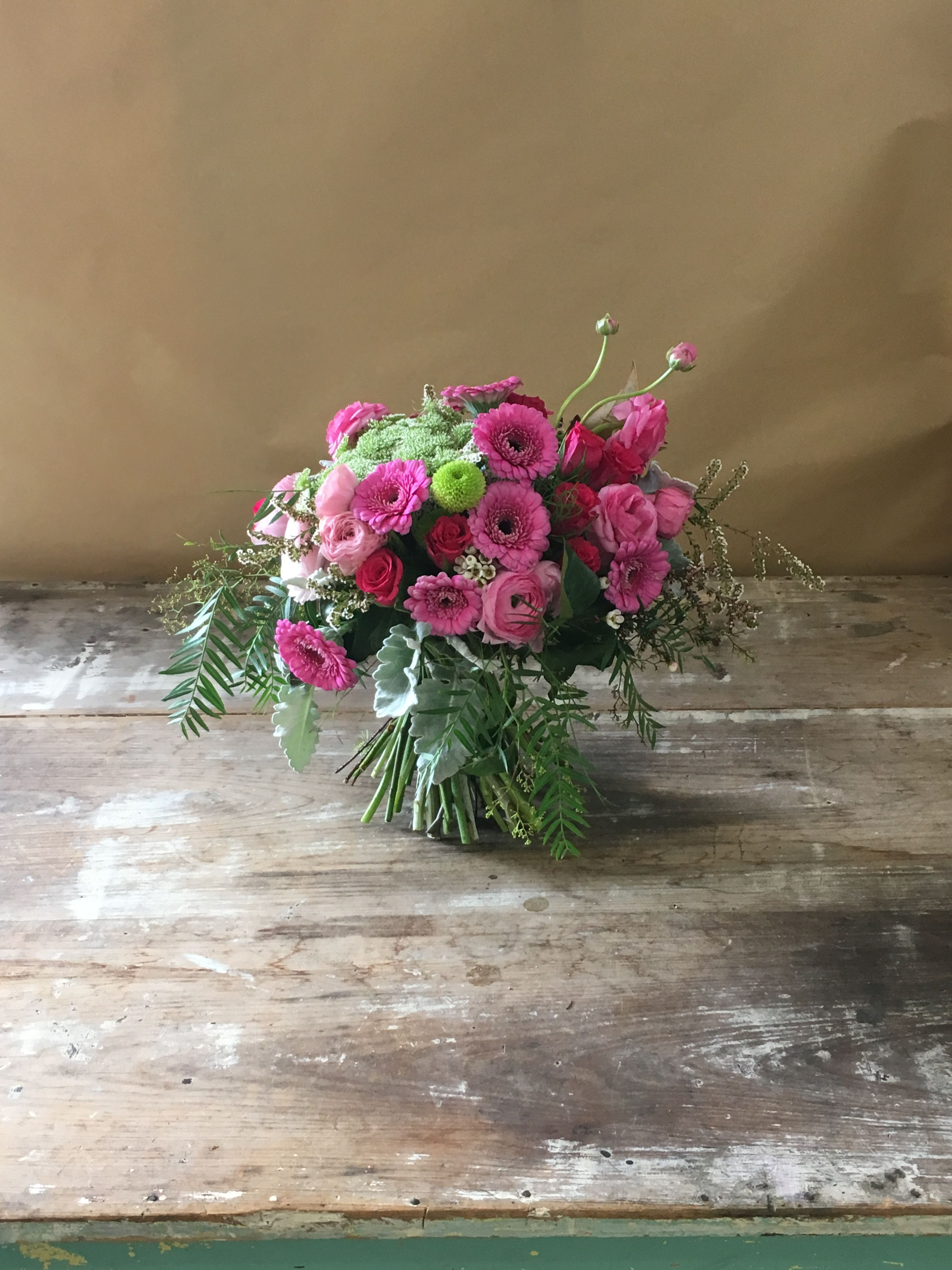 Pink Flowers For Young Girls Birthday Birthday Flowers Pinterest