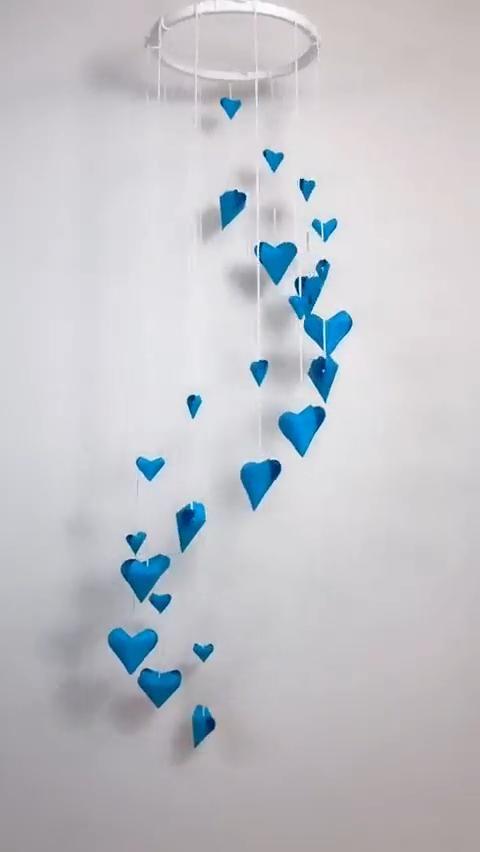 Beautiful DIY Paper Wind Chime