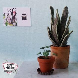 Verwonderend Gratis patroon planten haken (met afbeeldingen) | Haken, Crochet PF-19