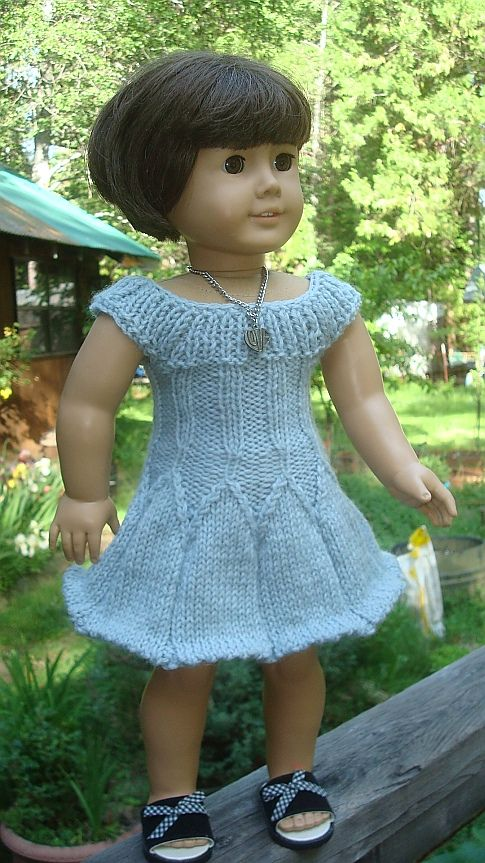 American Girl Doll 18 inch Camillia pattern by Hazel Rose Spencer
