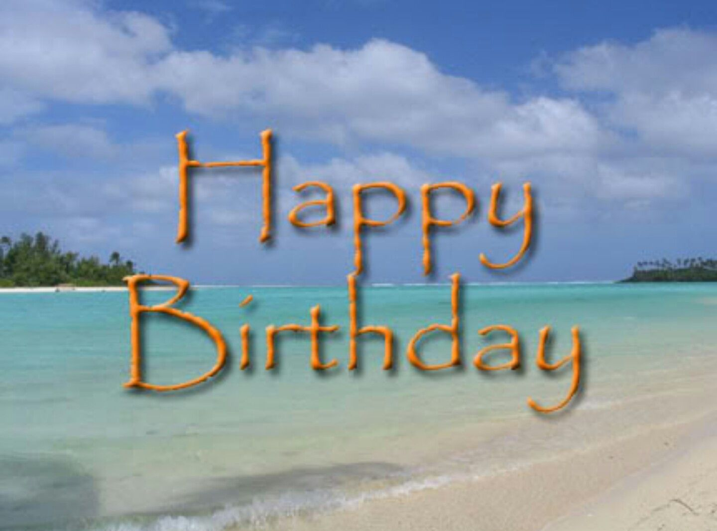 Hbd Beach Birthday Wishes For Friend