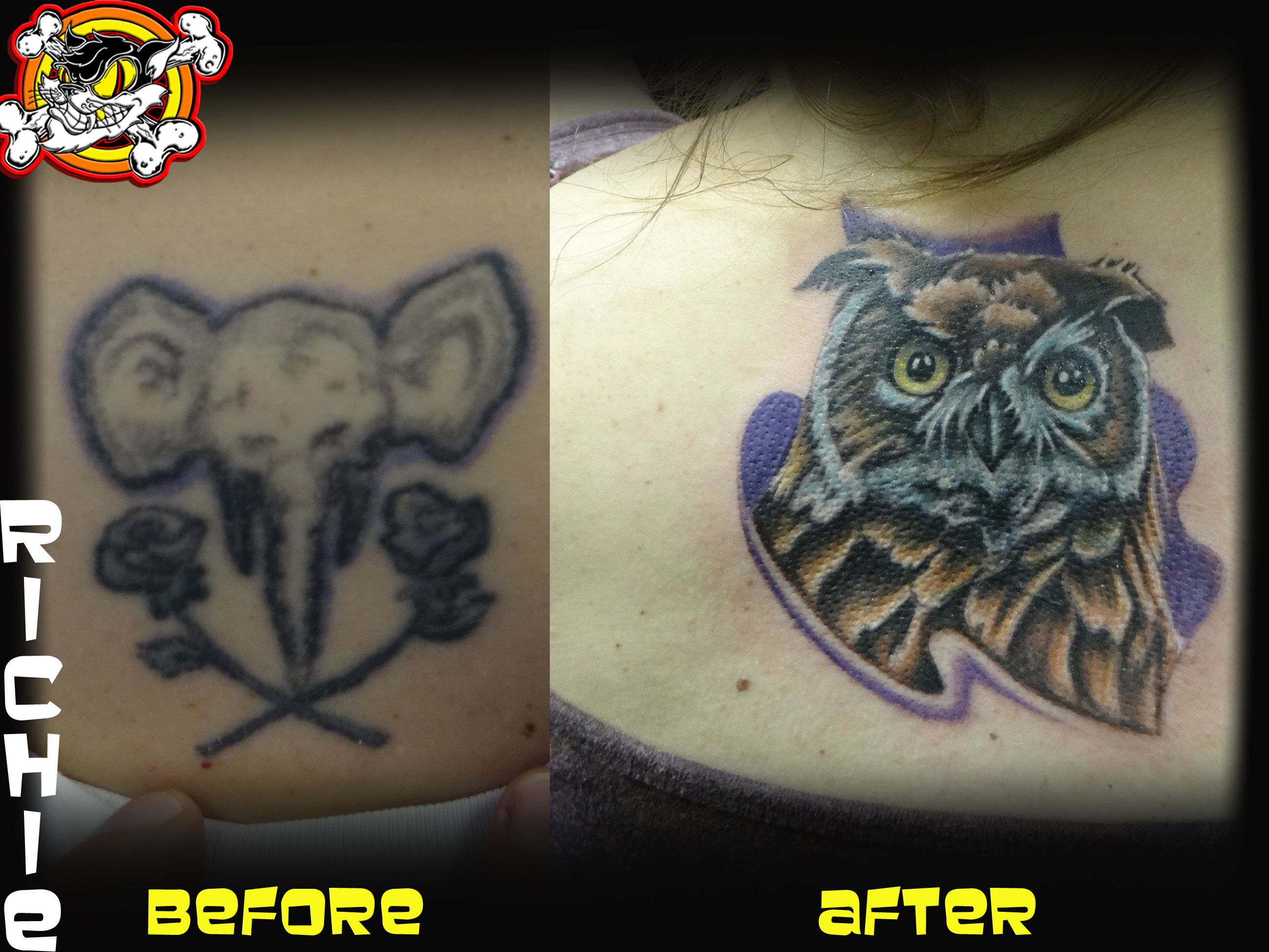 Richie kills it again with another great cover-up!