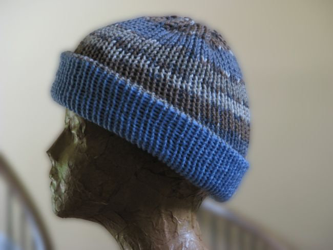 reversible hat, easy!!  Image