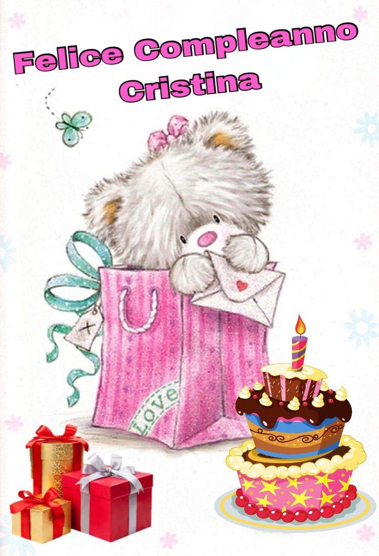 Buon Compleanno Cristina Buon Compleanno Auguri Di Buon