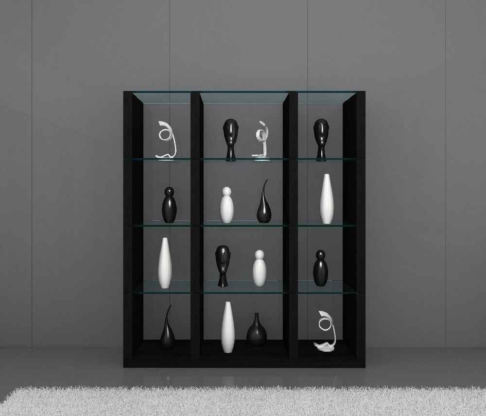 Jm Earth Wall Unit Black  Coffee Tables Tv Stands Wall Units Simple Modern Dining Room Display Cabinets Inspiration