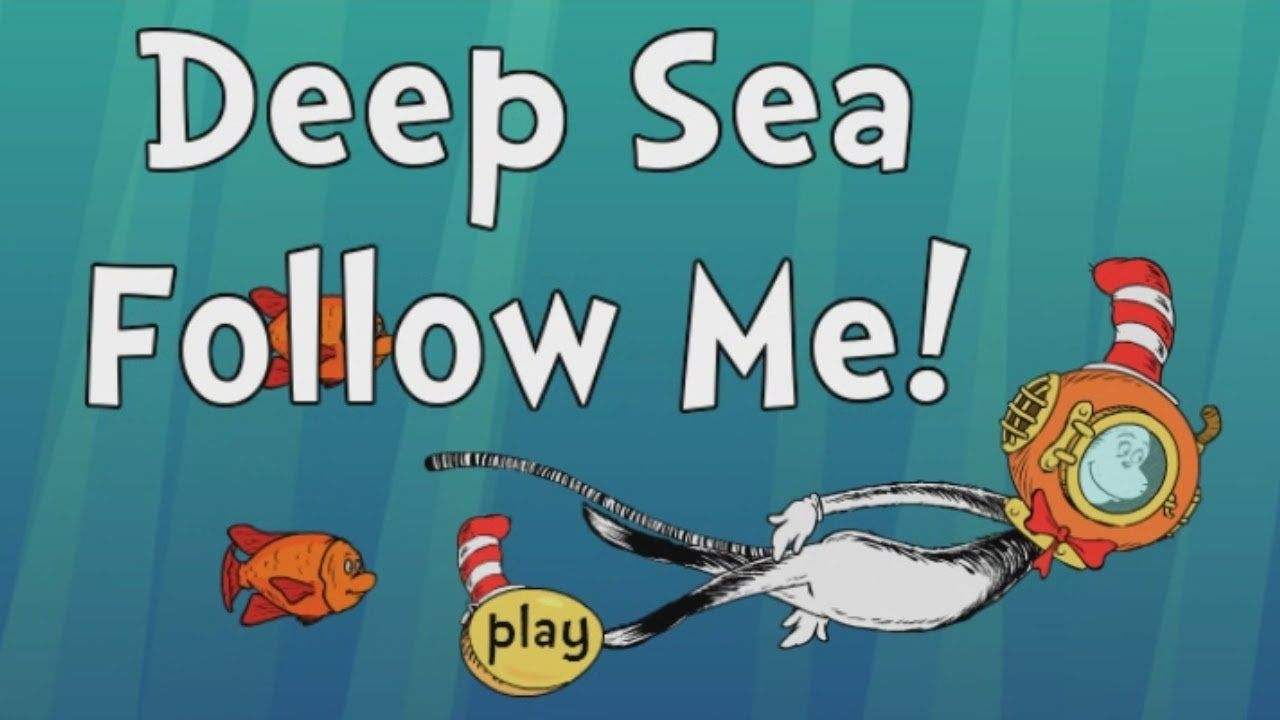 The Cat In The Hat Full Episode Games Deep Sea Follow Me Episode Game Deep Sea Episode Game Ocean Themes