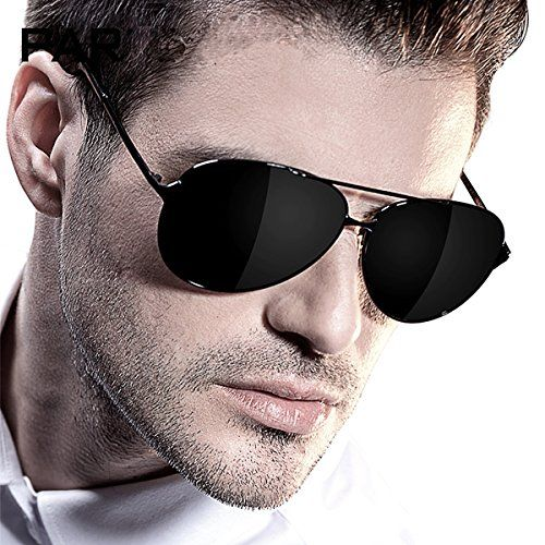 Attcl® 2015 Hot Classic Aviator Sunglasses Polarized For Men 8009 B-Black -  Crazy By Deals discounts and bargains 56779d79b270