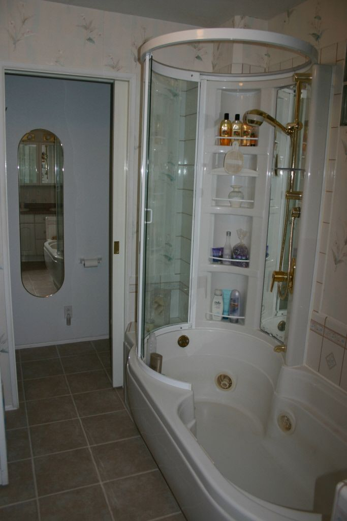modern newfangled shower jetted tub combo unit Durango Colorado ...