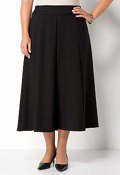 0e4a95d5a9 Seamed Ponte Skirt, 9-0035967273, Seamed Ponte Skirt Main View PGP ...