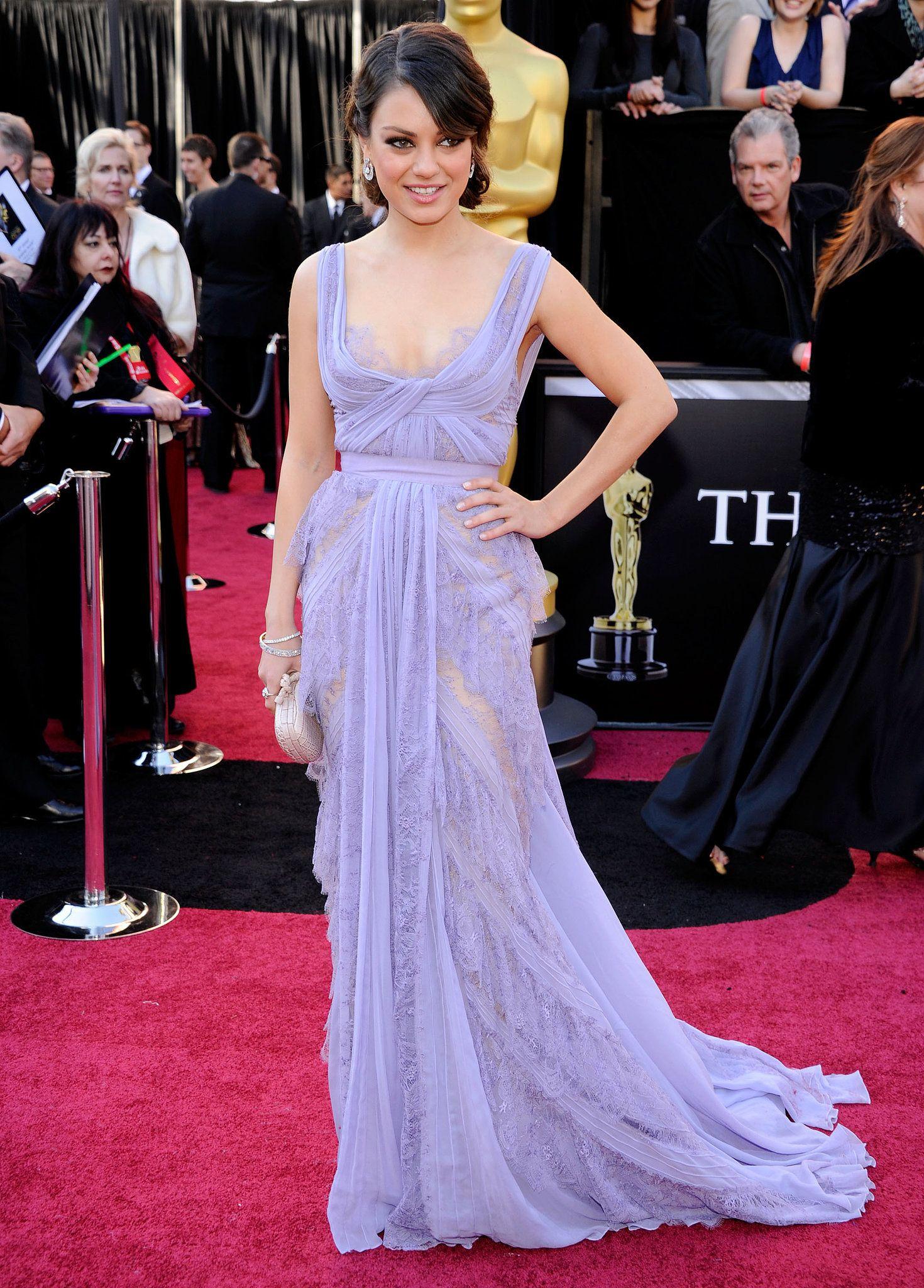 Mila kunis wedding dress  Mila Kunis Style Profile  Pinterest  Elie saab couture Mila kunis