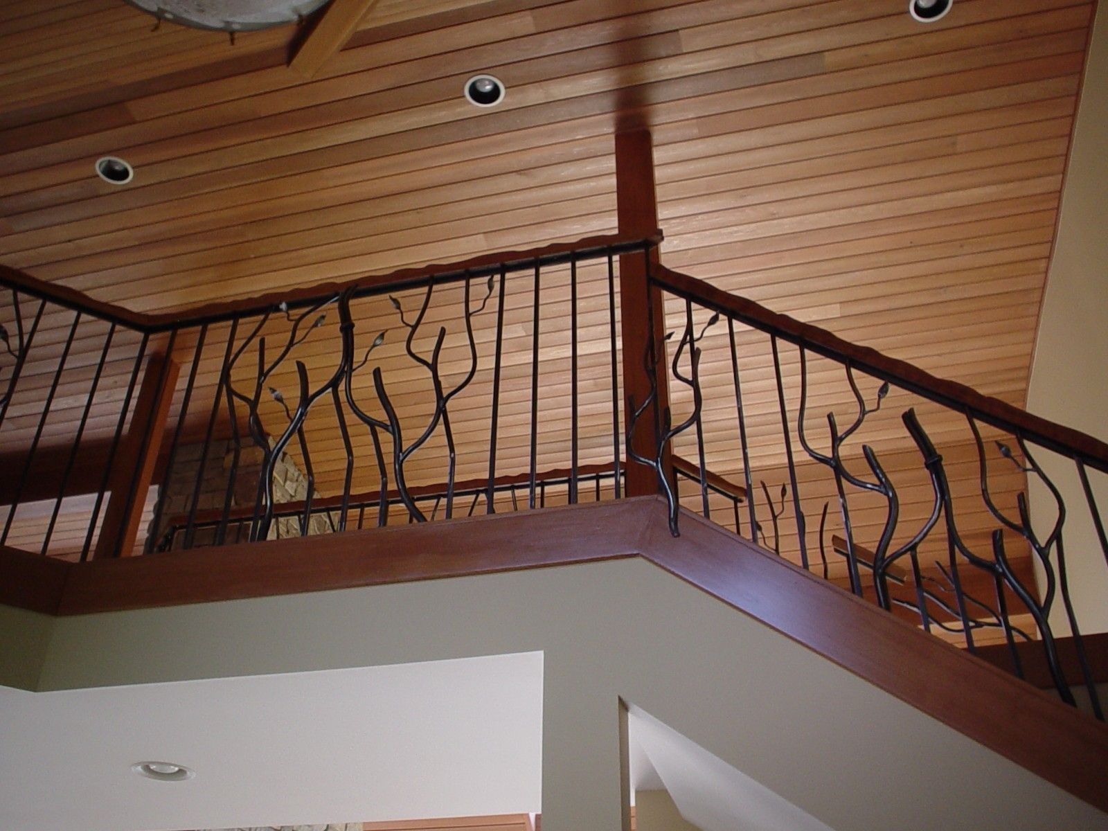 Best Custom Made Whiteford Handrail Handrail Whiteford Wrought Iron 400 x 300