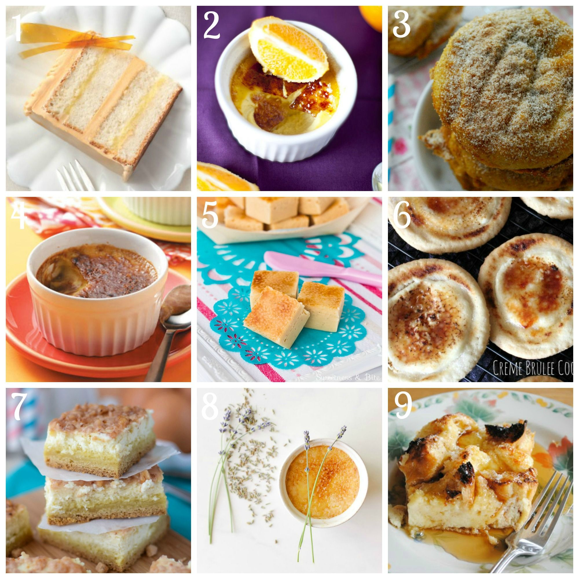 Creme Brûlée Recipes