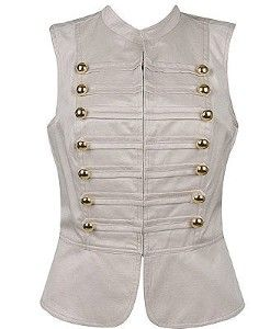 Military / marching band inspired vest