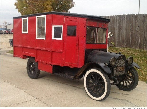 Reo cars | 1919 REO Speedwagon house car