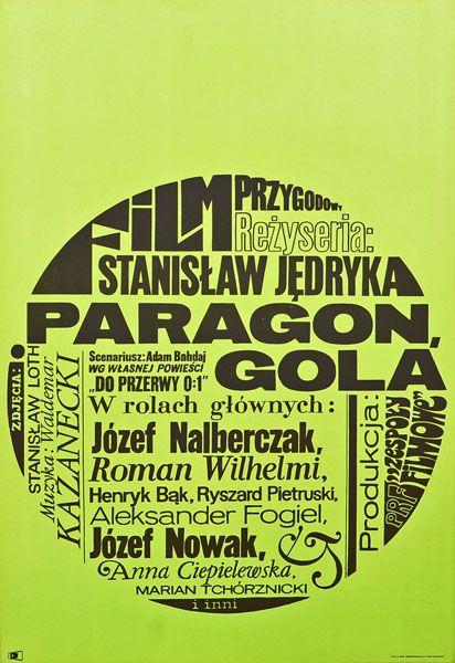 projekt plakatu pochodzi z 1969-1970 r