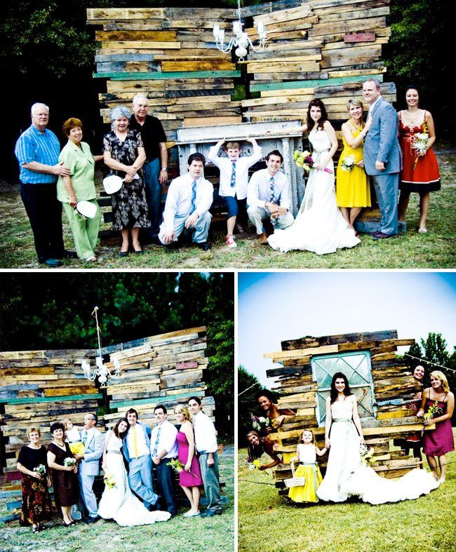 How To Throw A Backyard Wedding Make Your Own Photo Booth