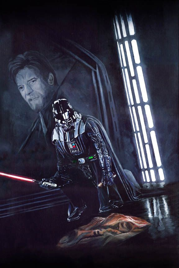 Star Wars Darth Vader Limited Edition Print You Were My Brother