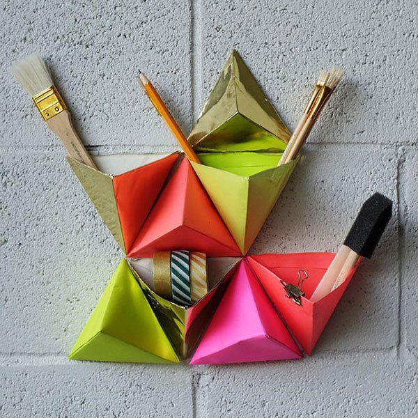 Embroidery Origami Storage