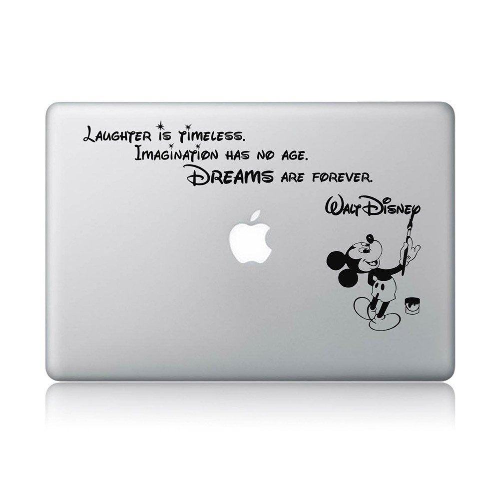 Amazon com disney quote macbook laptop decal vinyl sticker apple mac air pro laptop sticker computers accessories