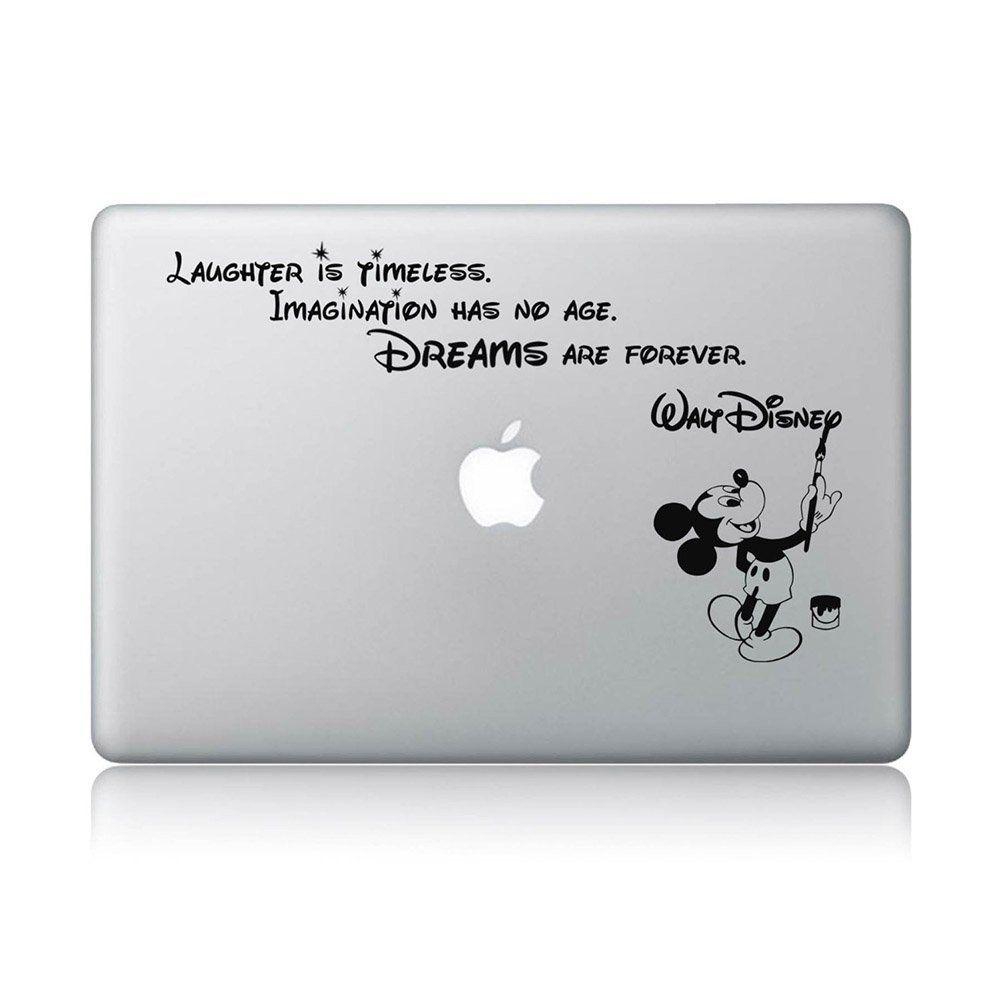 disney quote macbook laptop decal vinyl sticker apple mac air pro laptop sticker. Black Bedroom Furniture Sets. Home Design Ideas