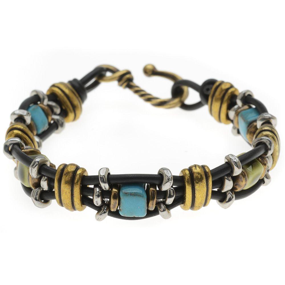 Tutorial - How to: Damascus Bracelet in Black | Beadaholique