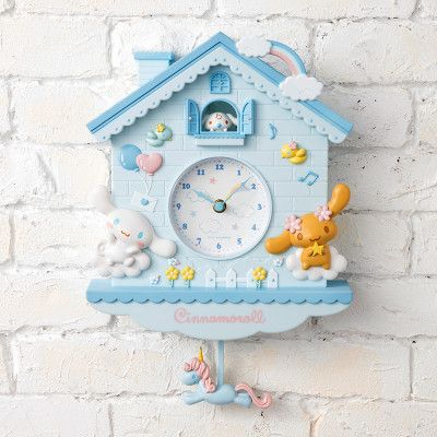 Cinnamoroll Decorative Pendulum Clock Sanrio Japan