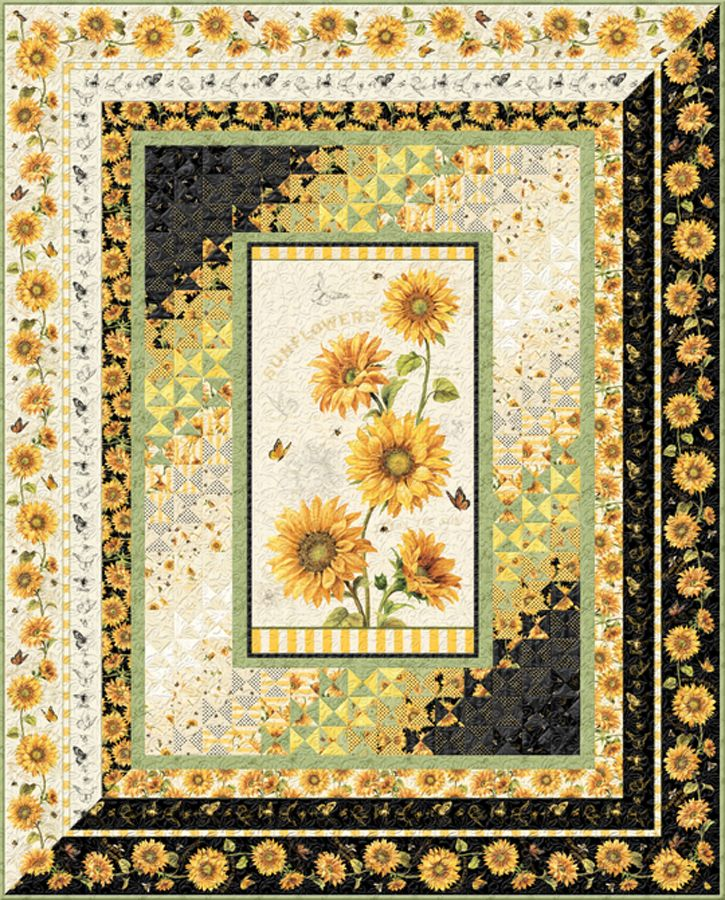 Follow The Sun Free Quilt Pattern Watercolor Quilt Quilt Patterns