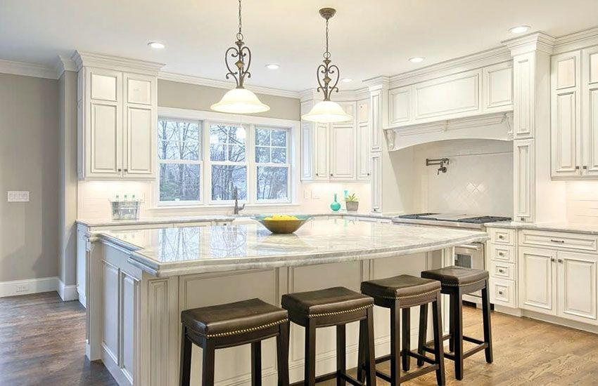 Cost Of Marble Countertops White Marble Kitchen Kitchen Marble