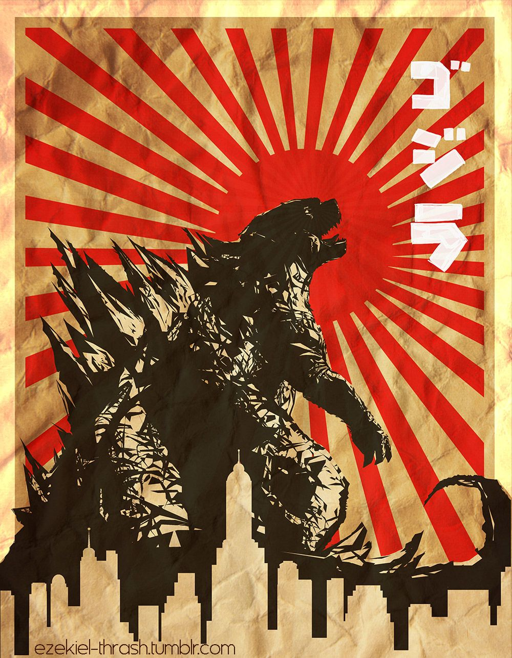 Vintage Godzilla Posters Google Search Vintage Posters Intro To Art Poster Art
