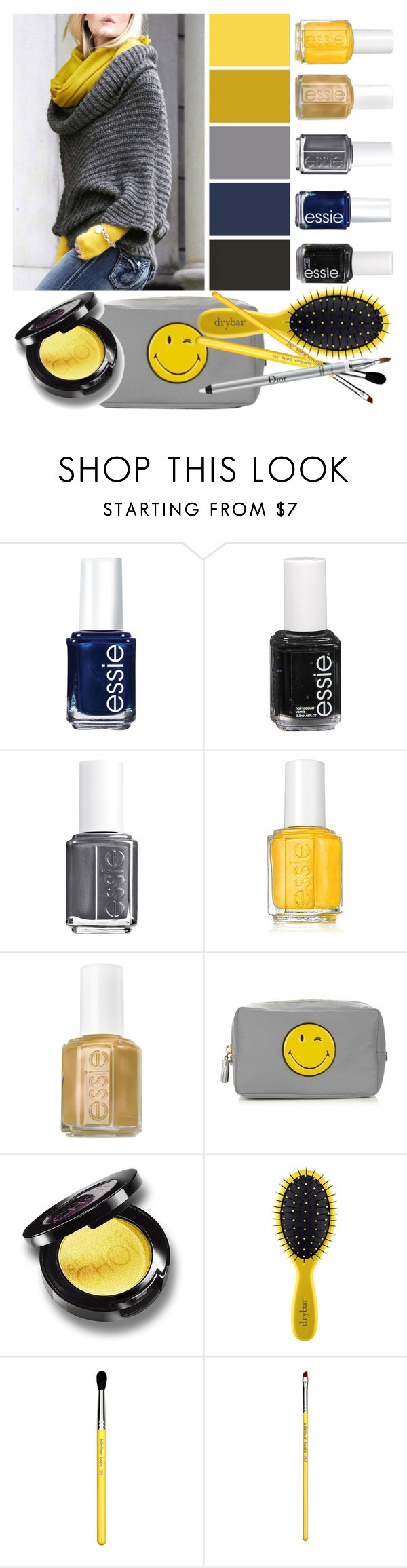 """""""Morning Light"""" by grozdana-v ❤ liked on Polyvore featuring beauty, Essie, Anya Hindmarch, Drybar, Bdellium Tools and Christian Dior"""