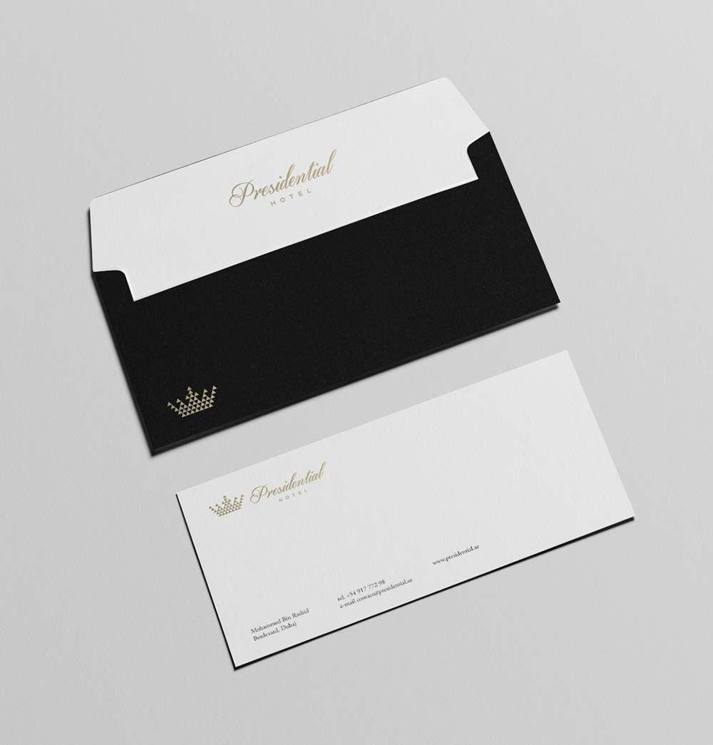 Presidential Hotel branding