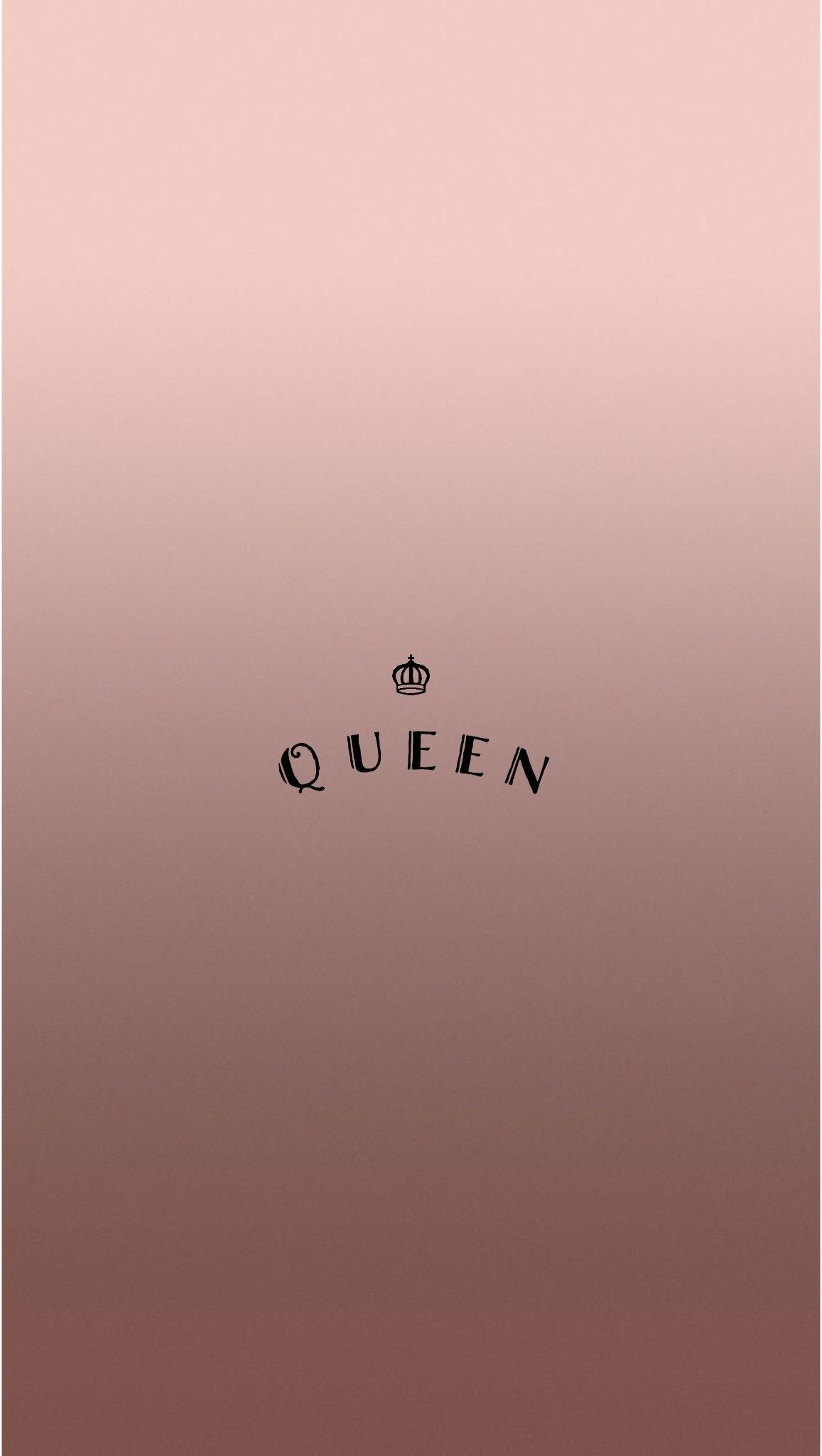 1157x2048 Rose Gold Queen iPhone Wallpaper by @EvaLand #iphone3