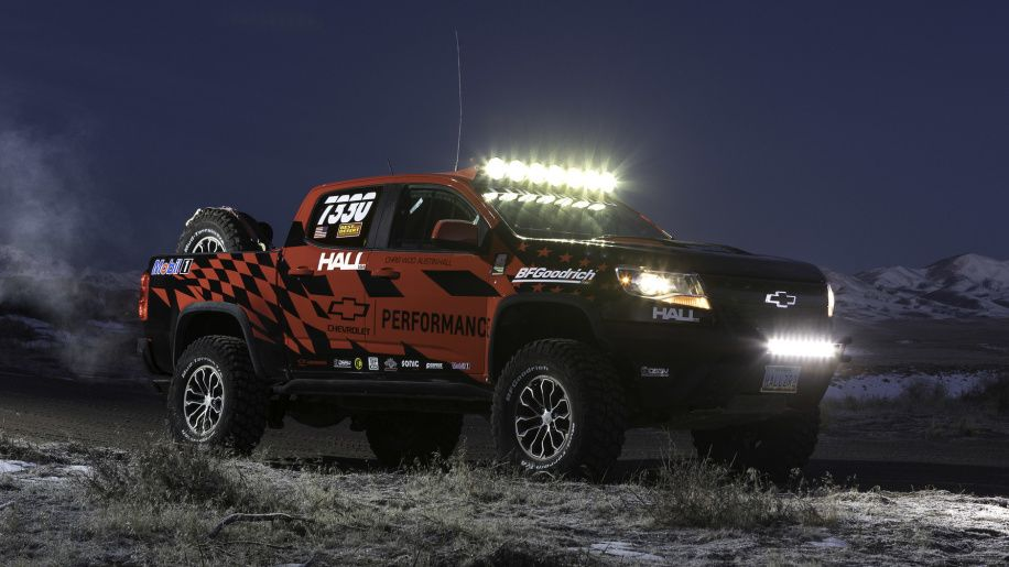 Chevy Colorado Zr2 Gets Chevy Performance Off Road Parts Chevy Colorado Chevy Racing
