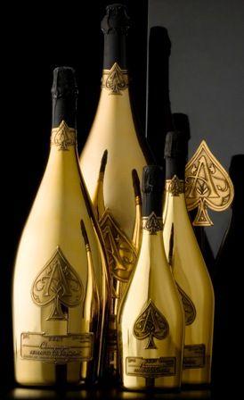 Armand De Brignac Ace Of Spades Champagne Brut Gold 75cl Gift Box Pezsgo Ujev Es Rum