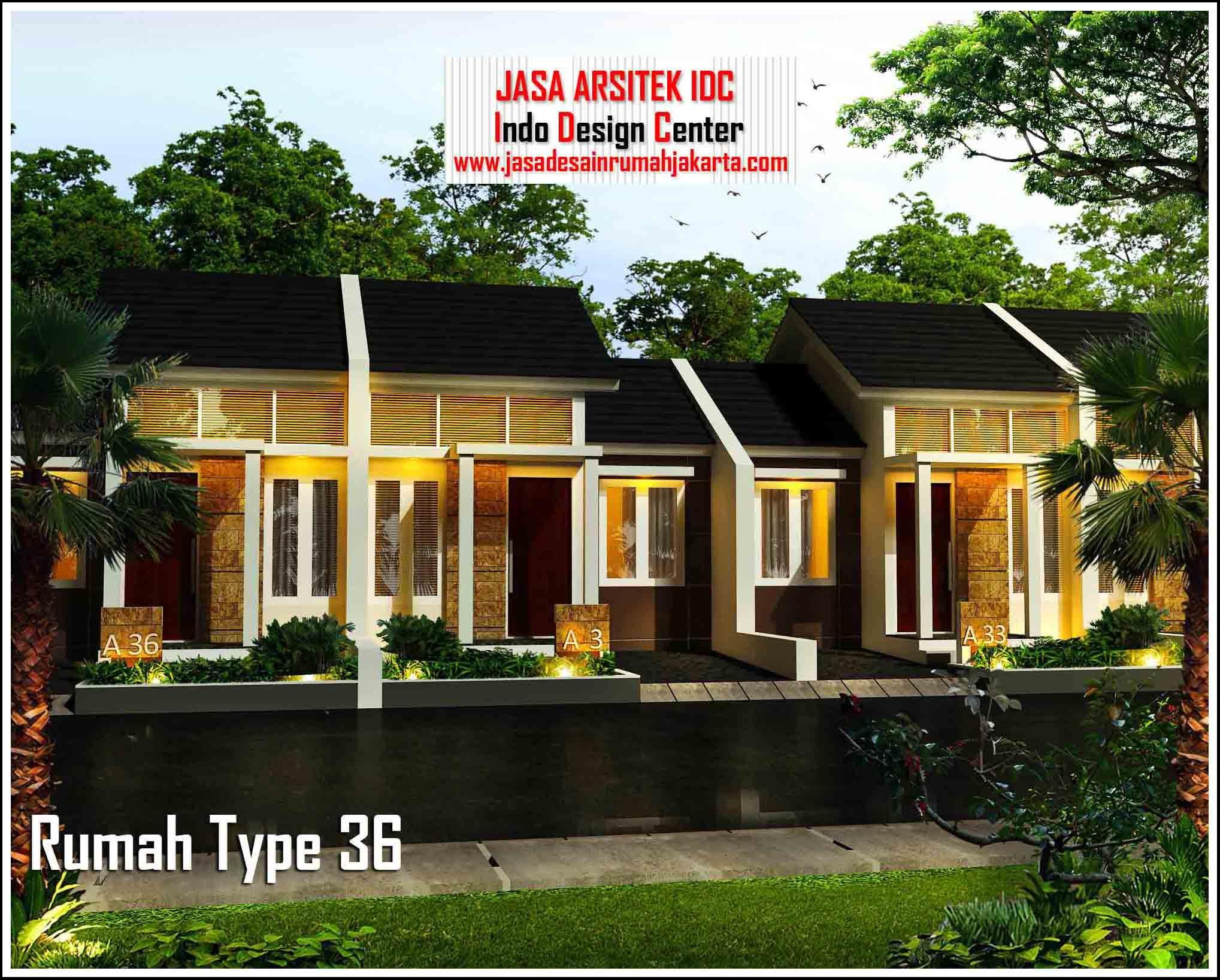 35 Tampak Depan Rumah Minimalis Type 36/72 | Typehom