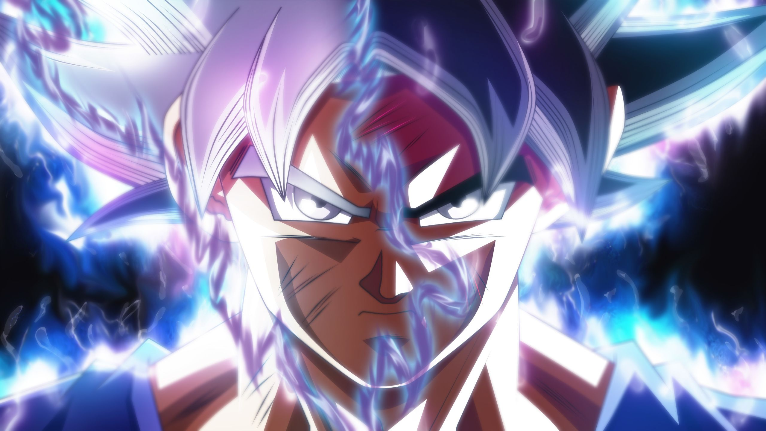 Download 2560x1440 Wallpaper Goku Face Off Ultra Instinct Dragon Ball Super 5k D Dragon Ball Super Wallpapers Dragon Ball Wallpapers Dragon Ball Super Art