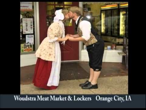 Orange City Iowa's Woudstra Meat Market & Lockers on Our Story's The Tourists .