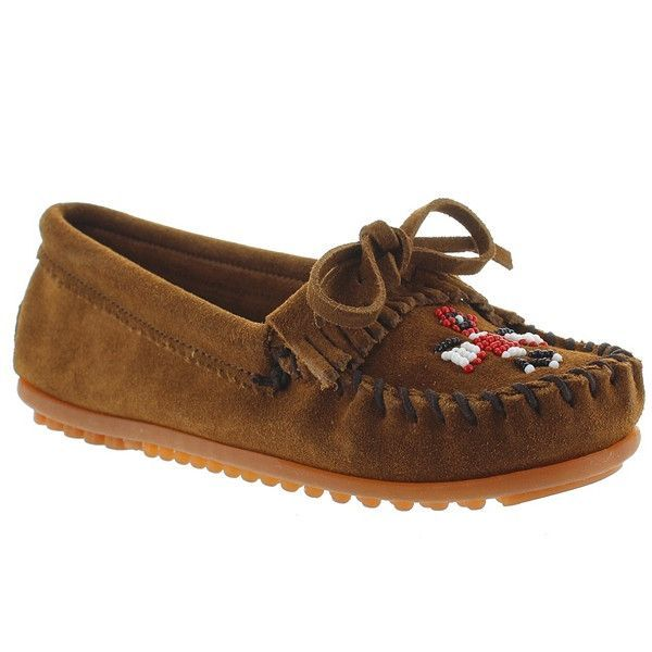 Dusty Brown Suede Minnetonka Women/'s Thunderbird II Moccasin 10