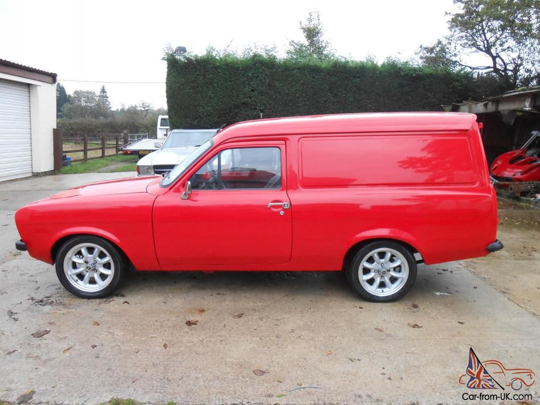 Panel van | ford escort | Pinterest | Ford, Ford escort and Ford ...