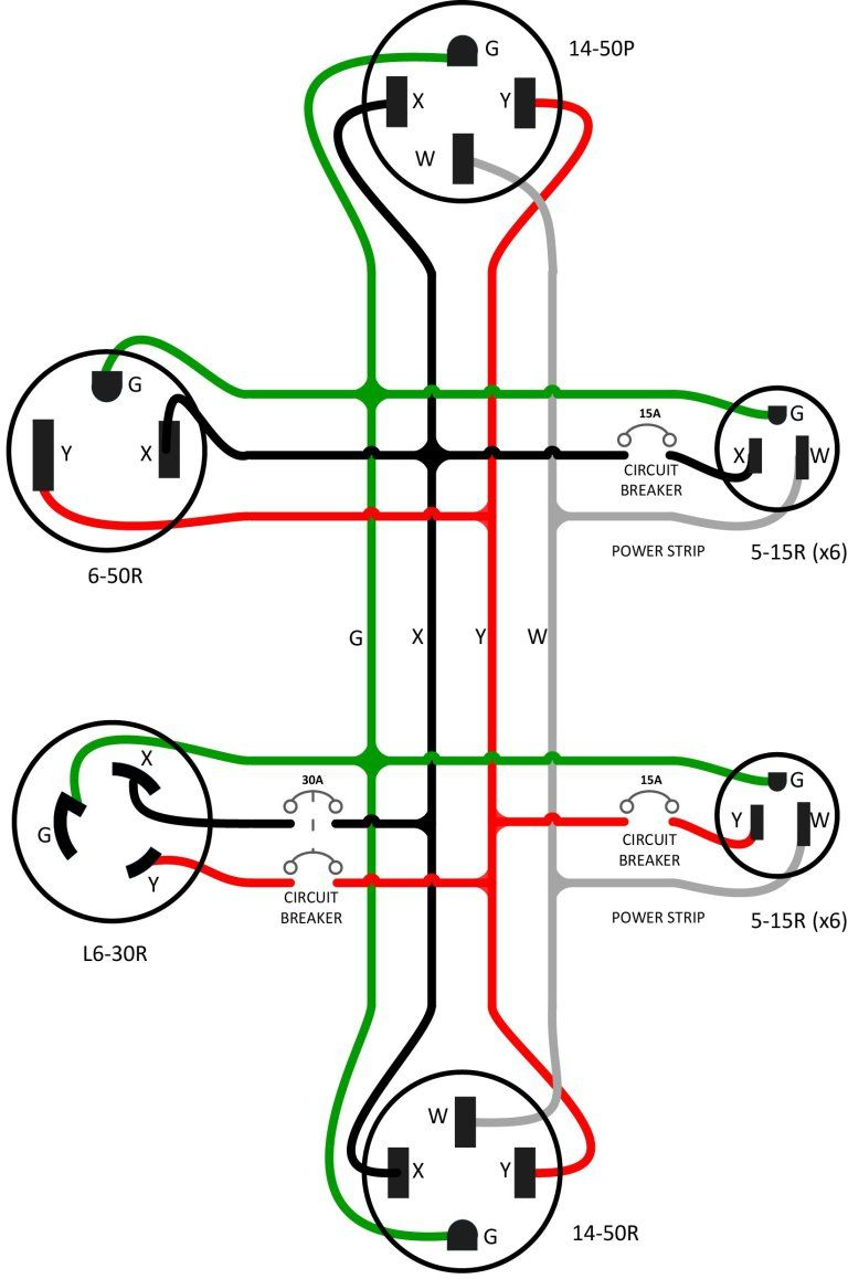 Figure 3 – The wiring diagram for the adapter Outlet Wiring, Residential  Wiring, Electrical