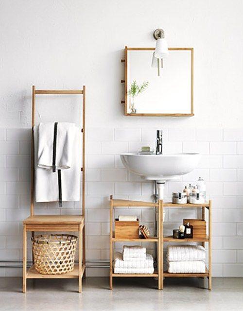 浴室收纳奇招 只要花小小心思 Bathroom 可以变美又变大 Small Bathroom Furniture Ikea Bathroom Accessories Space Saving Bathroom