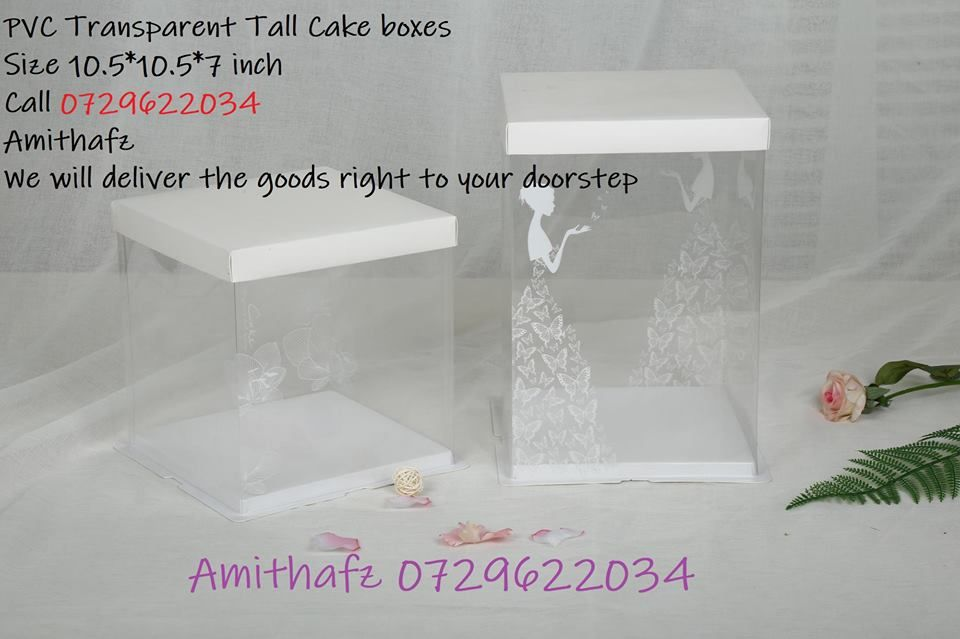 Tall High Transparent Wedding Engagement Cake Marwa Nika Boxes Sale Price Pet Wedding Gifts For Bride And Groom Wedding Gifts For Bride Wedding Gifts For Groom