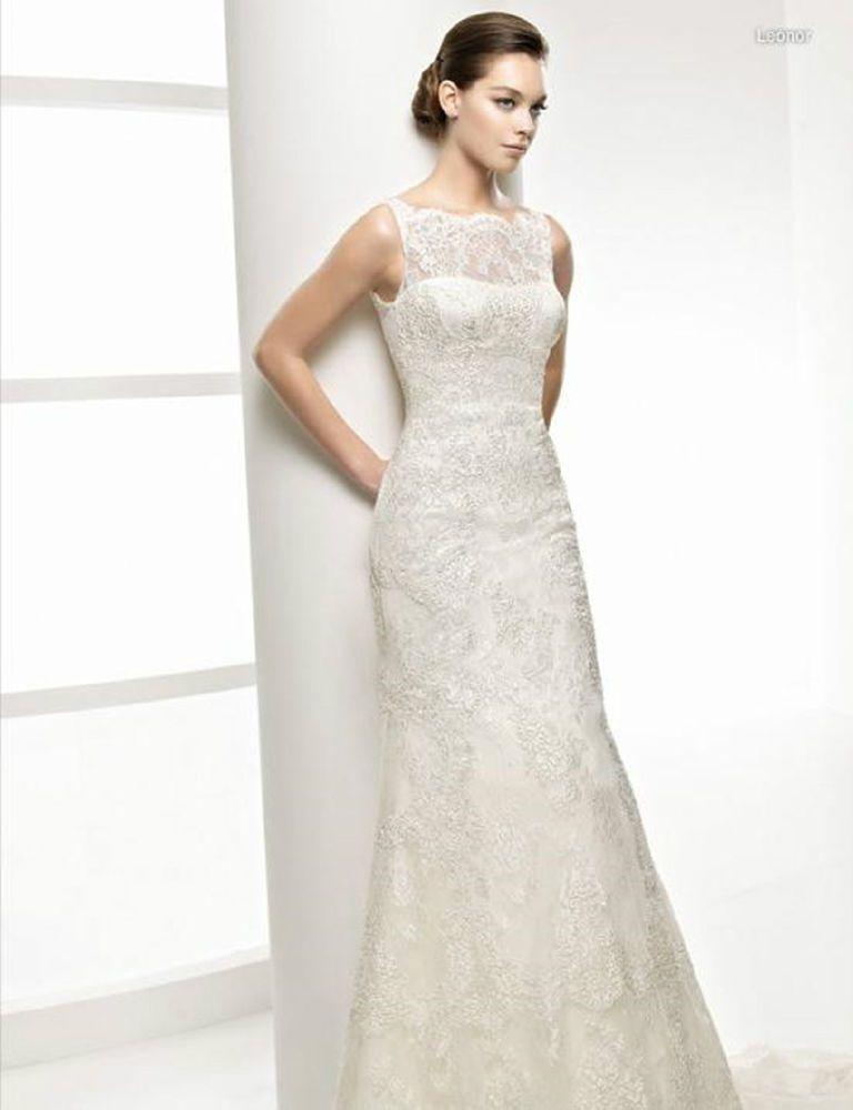 2014 New White/Ivory Wedding Dress Bridal Gown Custom Size 4-6-8-10-12-14-16-18+