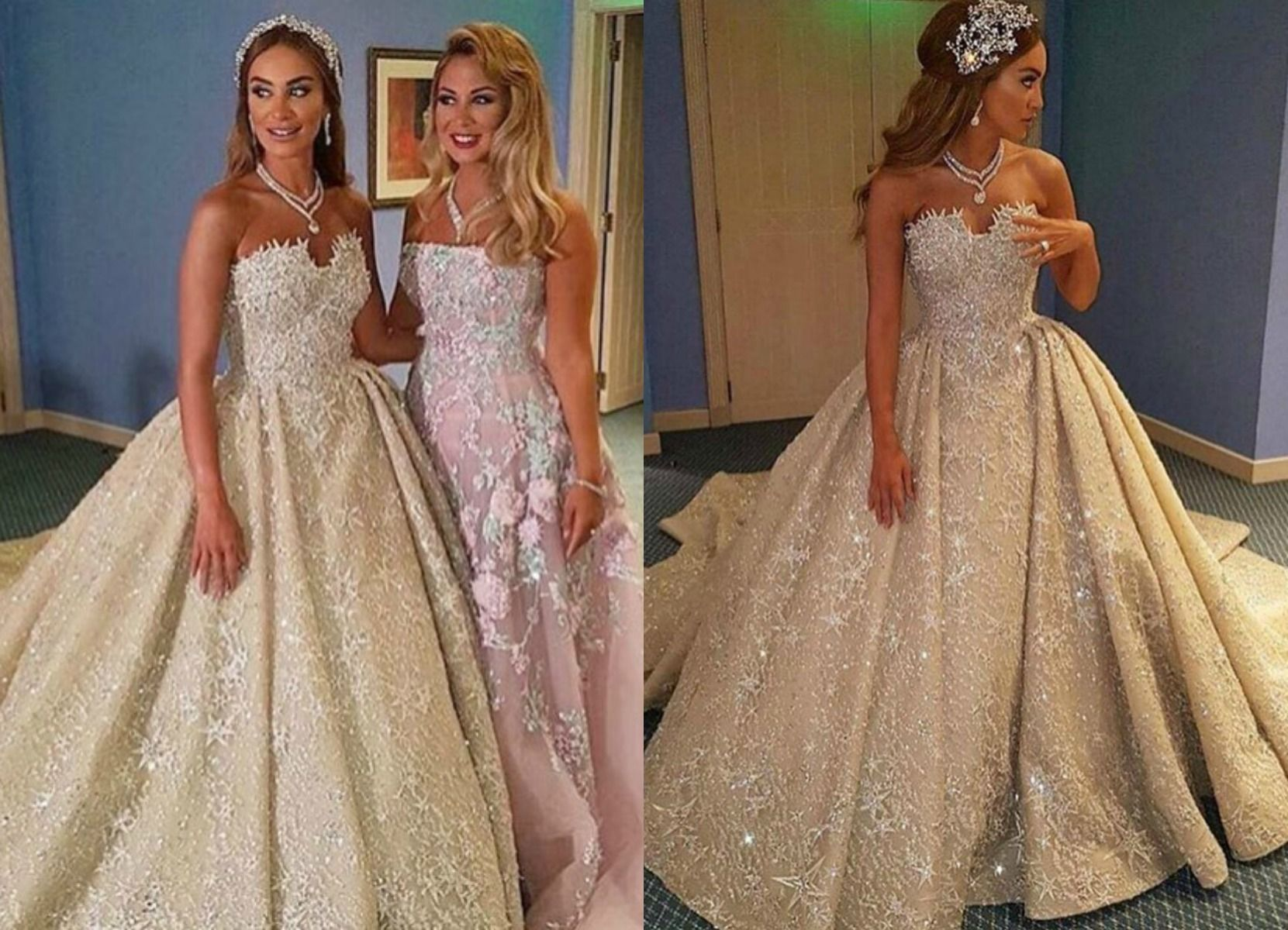 Yasmina And Badwi S Wedding Was An Extravagant Utterly Royal Affair Held At The Hilton Beirut With Over 800 Guests Some Of Lebanon Most