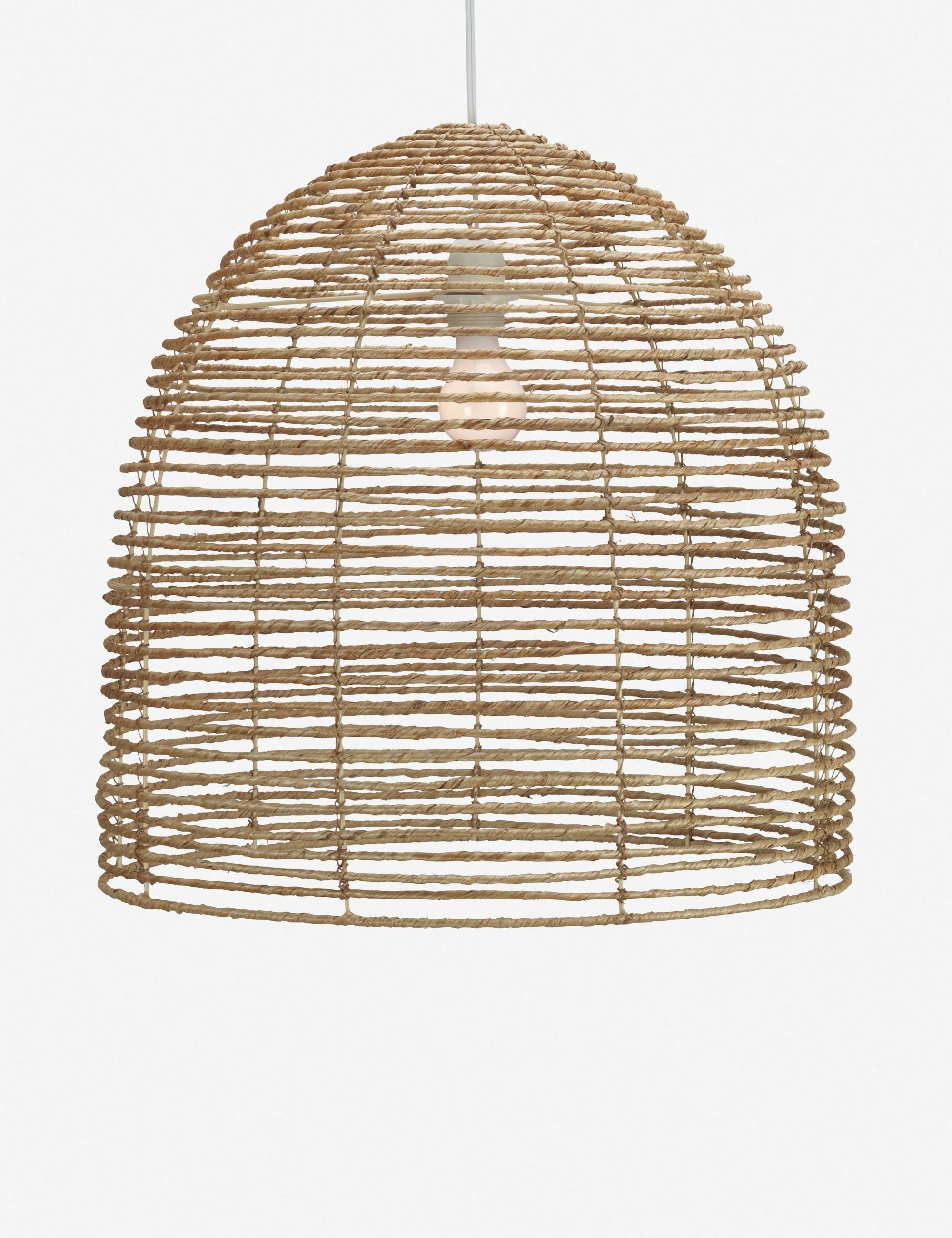 Beehive Pendant In 2020 Coastal Light Fixtures Light Fixtures Pendant Light Fixtures