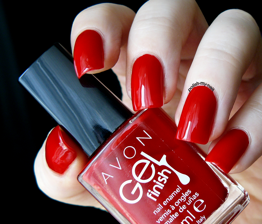 Polish My Nail: Avon - Gel Finish Roses Are Red www.youravon.com ...