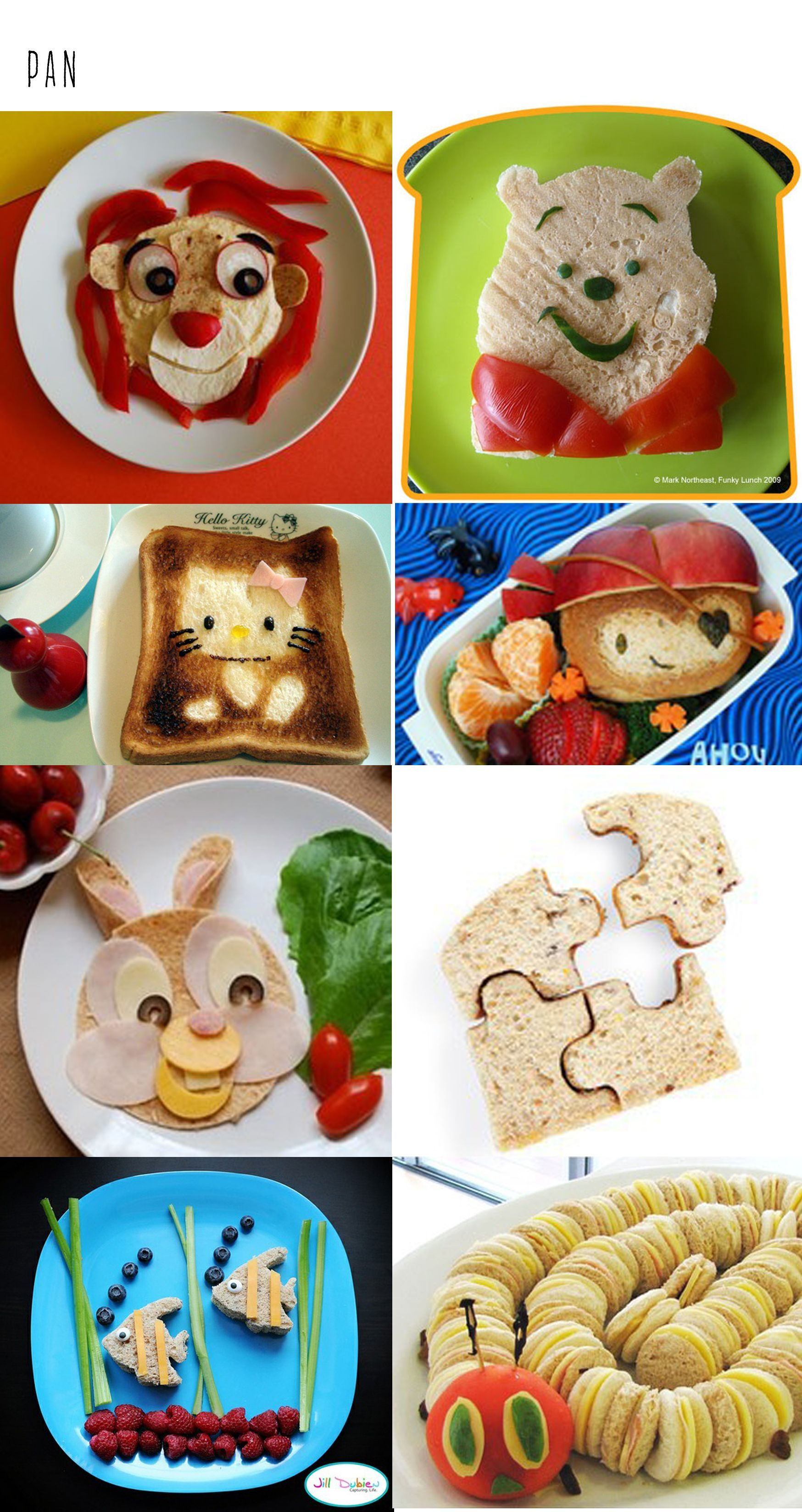 Bread for the kids caballito alimentos divertidos para for Comida saludable para ninos