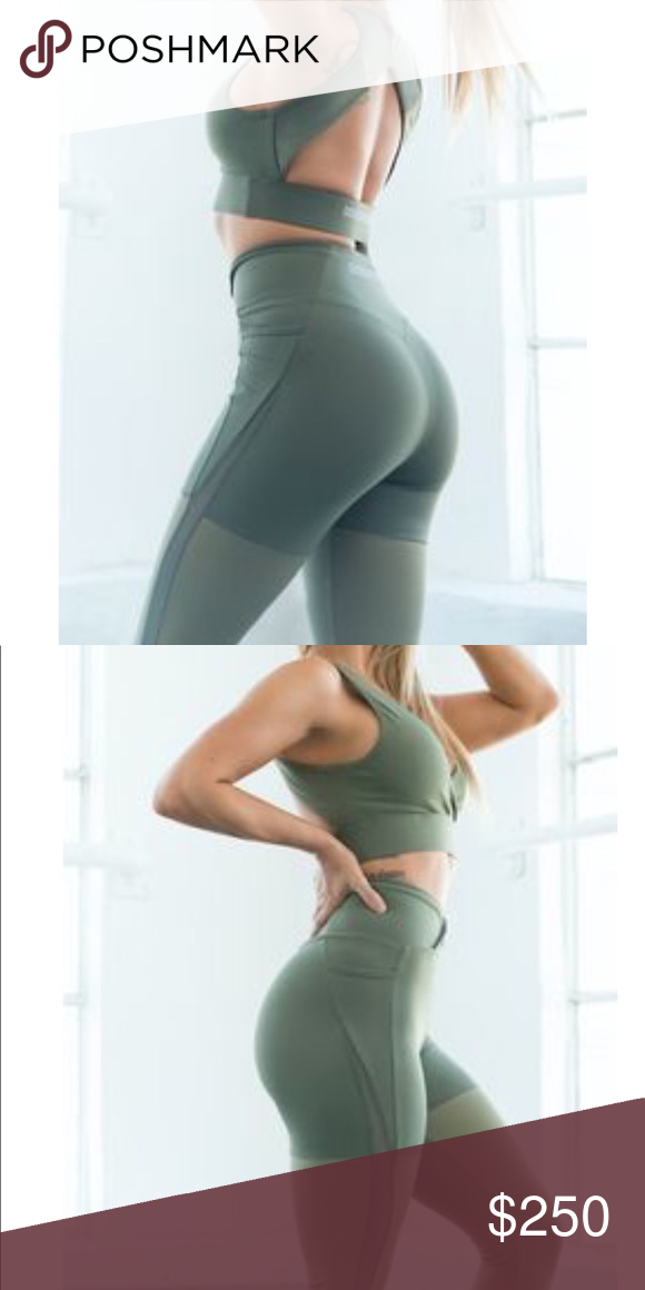 4597268ba206d Gymshark Nikki B season 2 leggings Gymshark Nikki B season 2 Olive Marl  Leggings. Never worn, perfect condition w/tags Limited Edition SOLD OUT on  website ...
