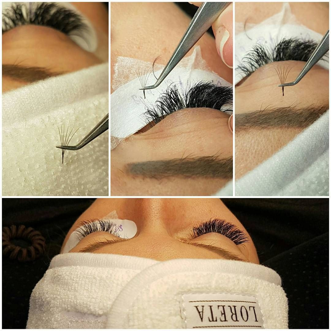 Infill Procedure Part2 After Cleaning Eyelashes And Eye Area Removing Grown Out Extensions Removing Extensions That Eye Area Eyelashes Natural Lashes